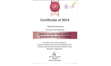 Thai Catering for International Standard