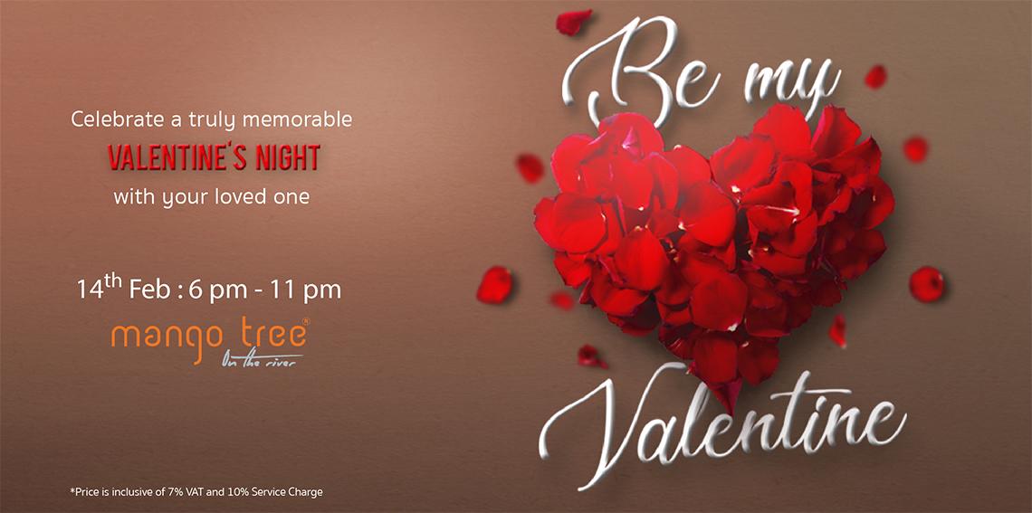 Be My Valentine Event